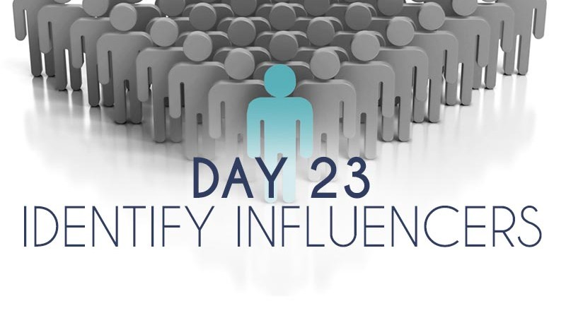 Identify Influencers (23)