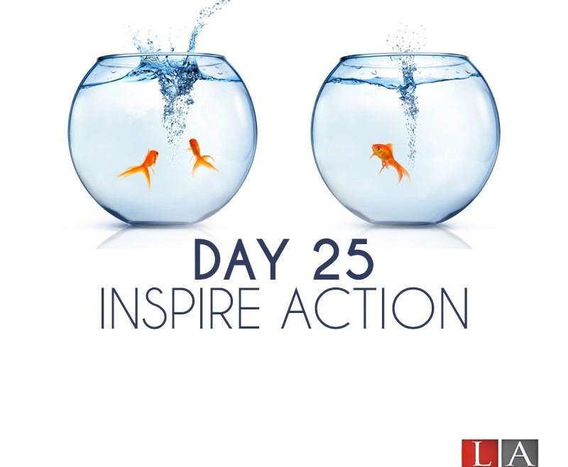 Inspire Action (Day 25)