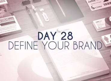 Define your brand (Day 28)