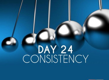 Be Consistent or Die Trying (Day 24)